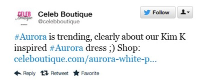 marketing  advertising  ethics ads waitrose twitter blog tweet celebboutique
