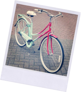 My beloved Bobbin Birdie bike, nabbed this in the limited edition watermelon shade
